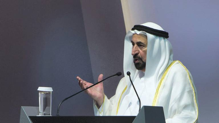 An image that illustrates this article Sharjah Ruler's theatrical plays to be translated into English