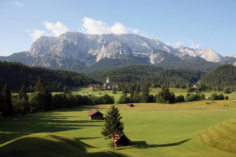 A handout photo of Schloss Elmau in Germany (Courtesy: The Leading Hotels of the World)