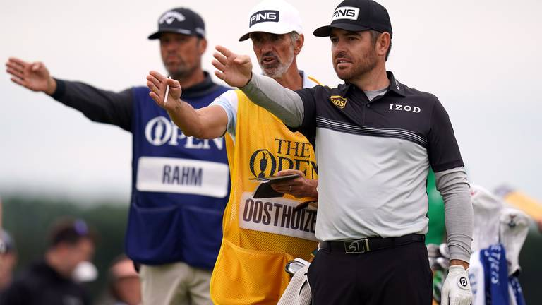 An image that illustrates this article Oosthuizen and Spieth make early running at The Open