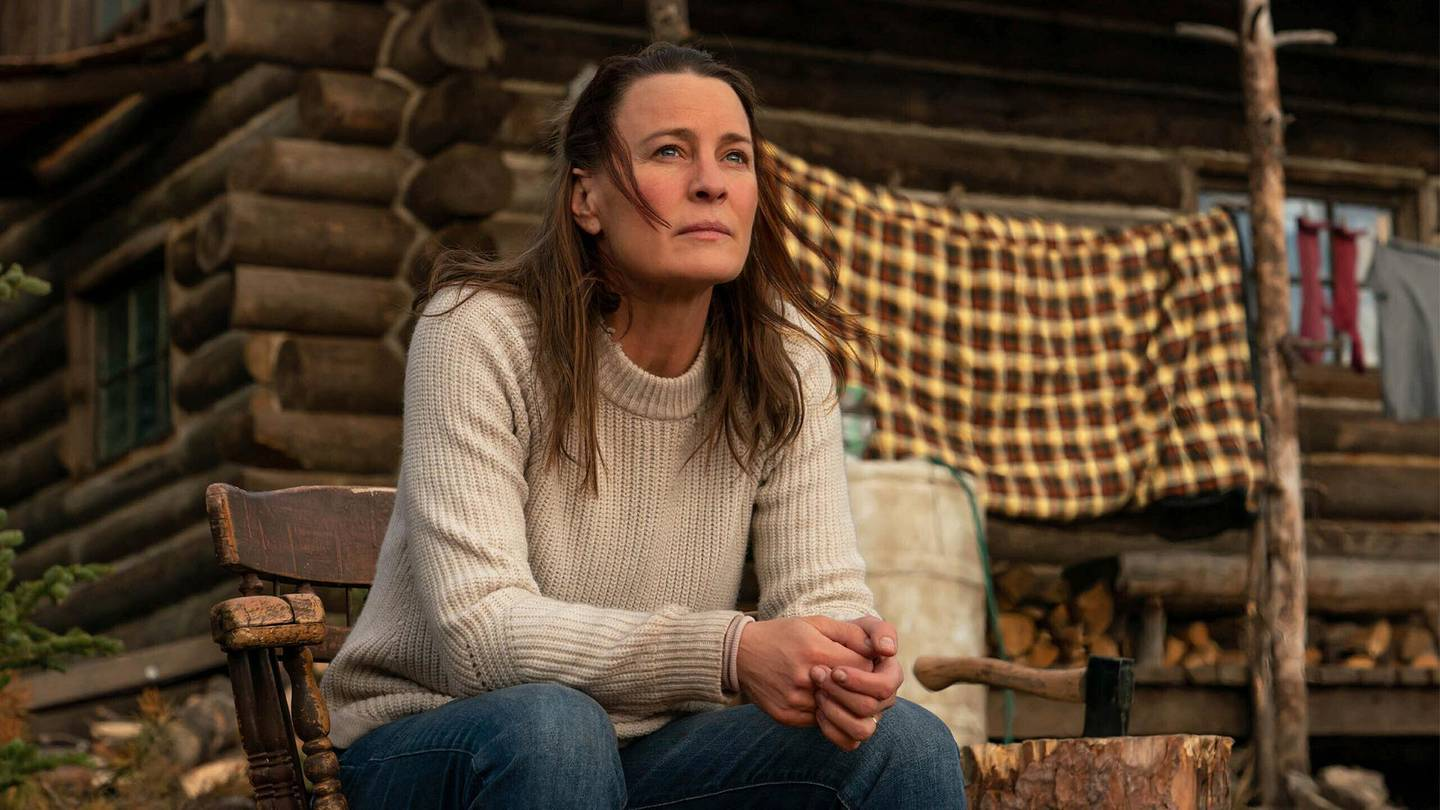 """This image released by the Sundance Institute shows Robin Wright in a scene from """"Land."""" The film will debut at the 2021 Sundance Film Festival. (Sundance Film Festival via AP)"""