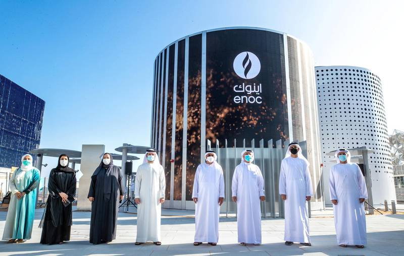 ENOC Group today announced that the construction of its pavilion at Expo 2020 has been completed. WAM