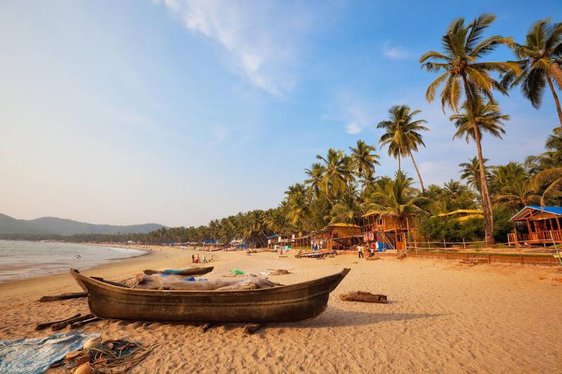 The Beach in Goa. Getty Images