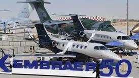 Brazil's Embraer receives orders for six new planes at Dubai Airshow