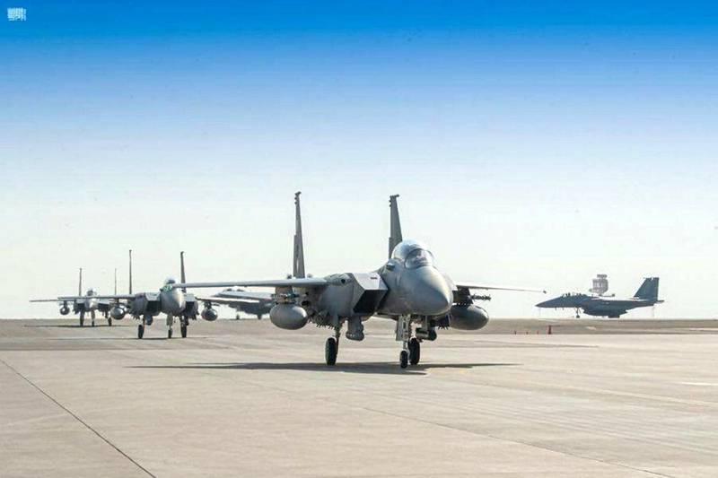 Saudi Royal Air Force Group, Participating in Desert Flag 2021 Exercises, Arrives in UAE