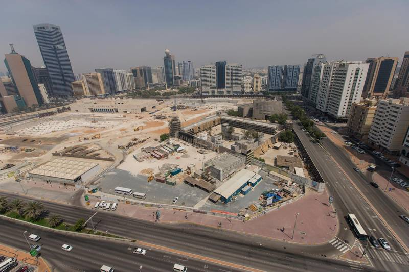 Abu Dhabi, United Arab Emirates, June 29, 2017:    General view of Qasr Al Hosn, which is currently undergoing restoration, in the Al Hosn area of Abu Dhabi on June 29, 2017. Christopher Pike / The National  Job ID:  Reporter:  Section: Big Picture Keywords: *** Local Caption ***  CP0629-big picture-02.JPG