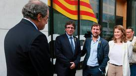 Catalan ex-leader, in Belgium, vows to press on with independence bid