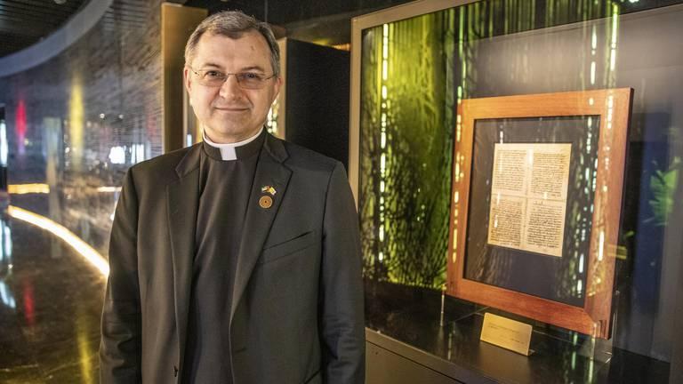 An image that illustrates this article Ancient Vatican manuscripts on display at Expo 2020 Dubai