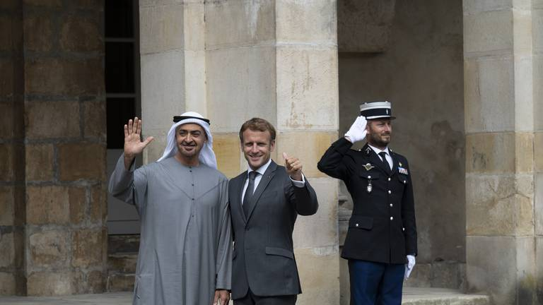 An image that illustrates this article Strengthening ties between France and the UAE