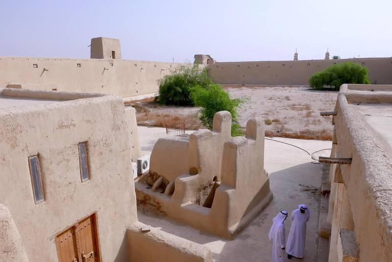 Traditional well in Qasr Sahood