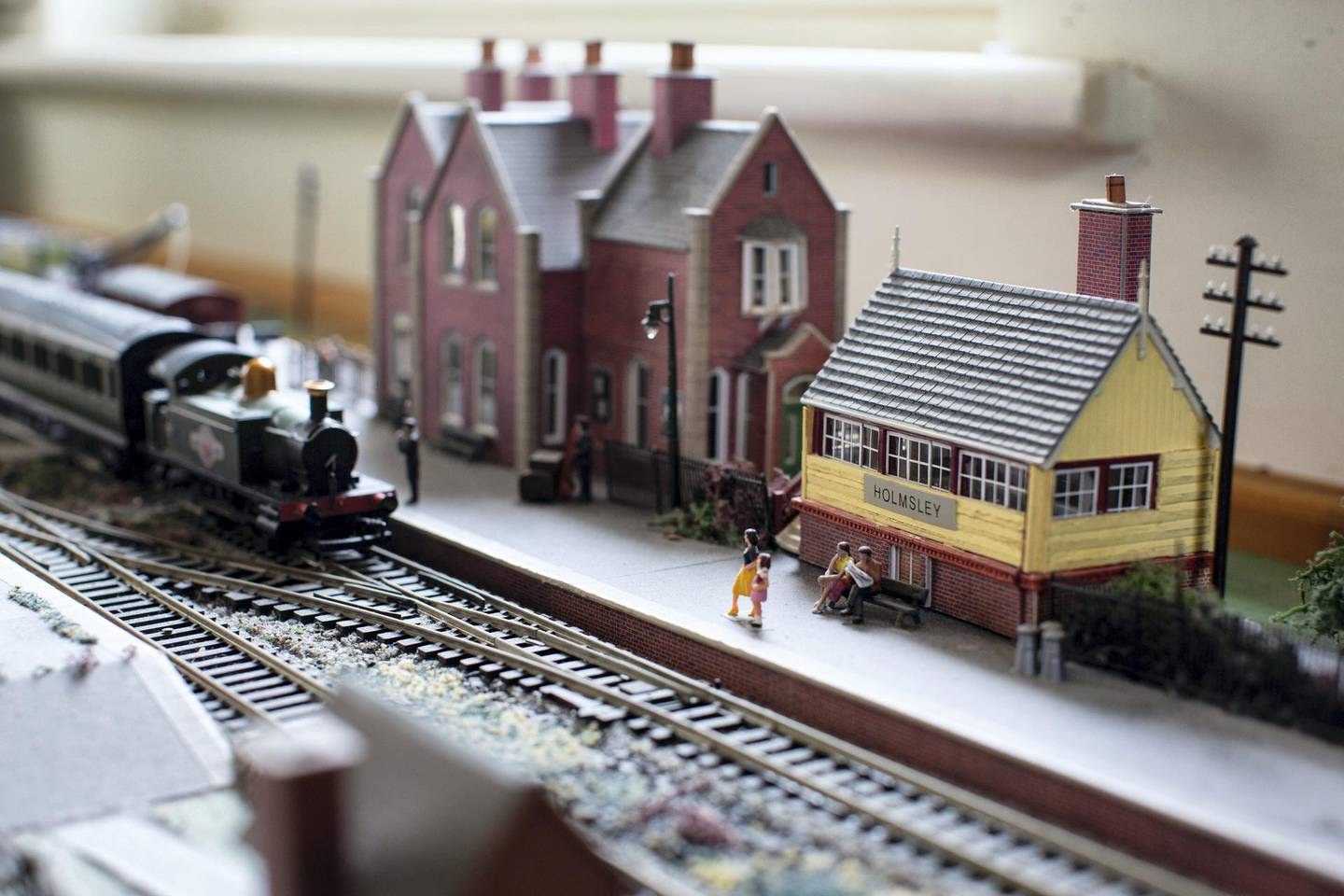 Paul Peachey feature on reinstating old railway lines, including the line the line in the New Forrest near Holmsley. The old station house at Holmsley is now a popular tea house and destination for tourists and day trippers. Inside is a model of the station in its former glory.