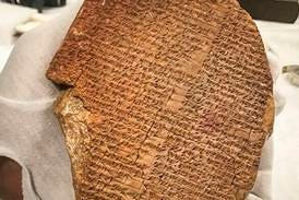 3,500-year-old Gilgamesh tablet to return to Iraq