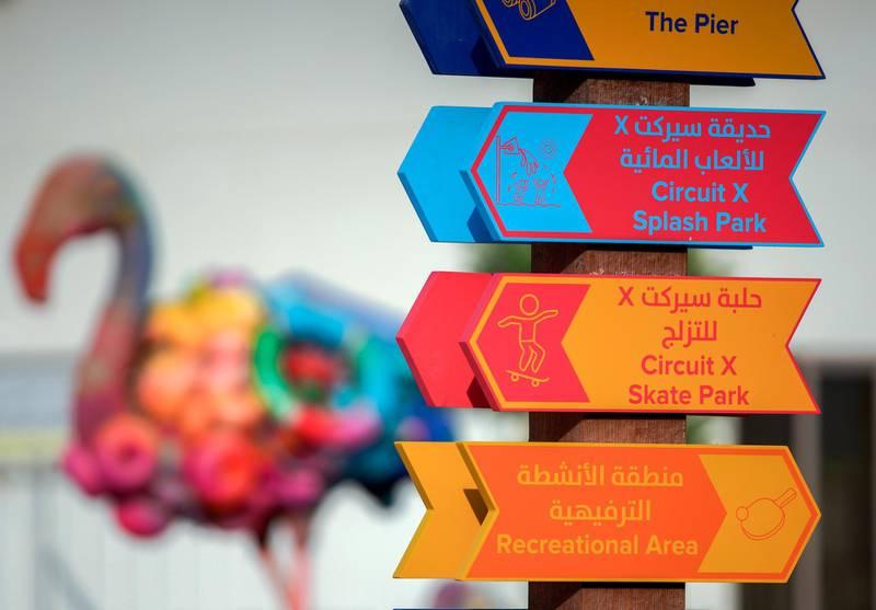Abu Dhabi, United Arab Emirates, November 8, 2020.   The new Hudayriyat Leisure and Entertainment District at Hudayriyat Island.Victor Besa/The NationalSection:  NAReporter:  Haneen Dajani
