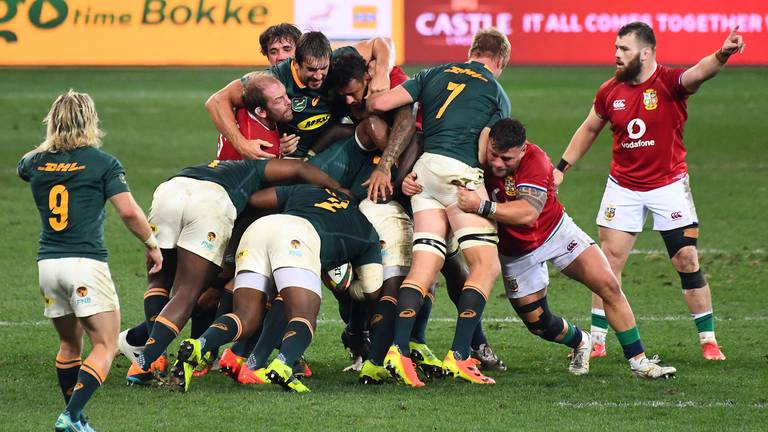 An image that illustrates this article South Africa made their mark after Rassie Erasmus laid his trap