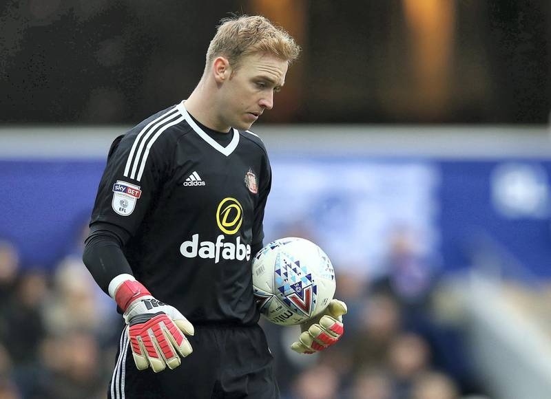 LONDON, ENGLAND - MARCH 10:  Jason Steele of Sunderland in action during the Sky Bet Championship match between QPR and Sunderland at Loftus Road on March 10, 2018 in London, England.  (Photo by Jack Thomas/Getty Images)