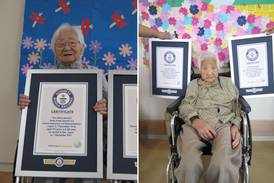 World's oldest living twins aged 107 certified by Guinness World Records