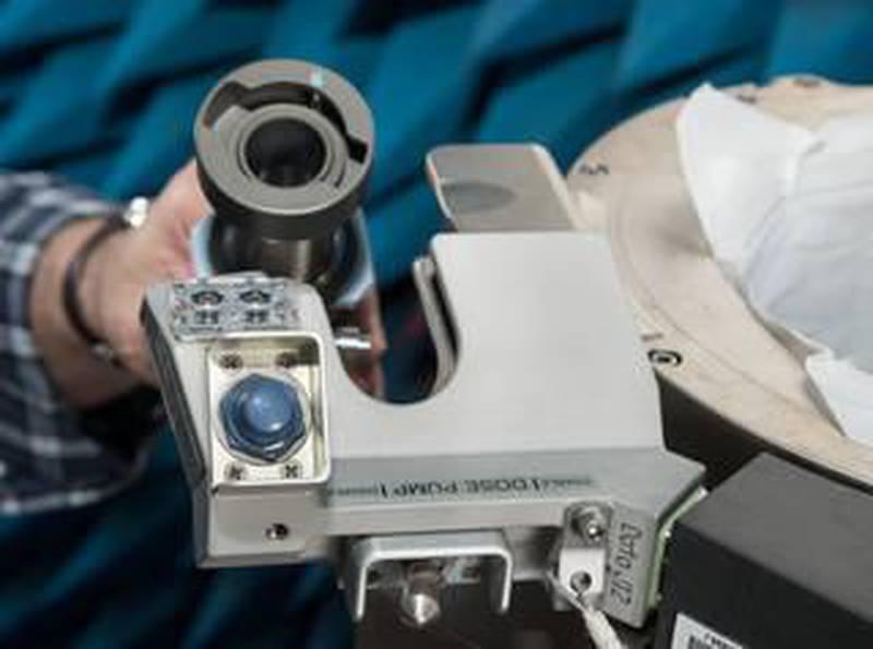 Date: 12-13-19Location: Bldg 14, rm 1000Subject: ISS Universal Waste Management System, Unit 1 during EMI/EMC TestingPhotographer: James Blair