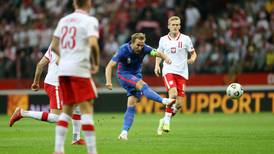 Poland level late to end England's winning streak