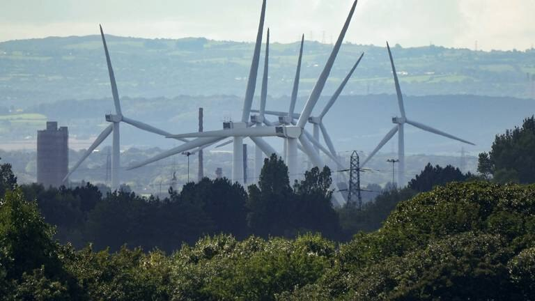 An image that illustrates this article Wind power cables project provides British jobs boost