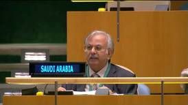 Saudi Arabia calls on UN to hold Houthis accountable