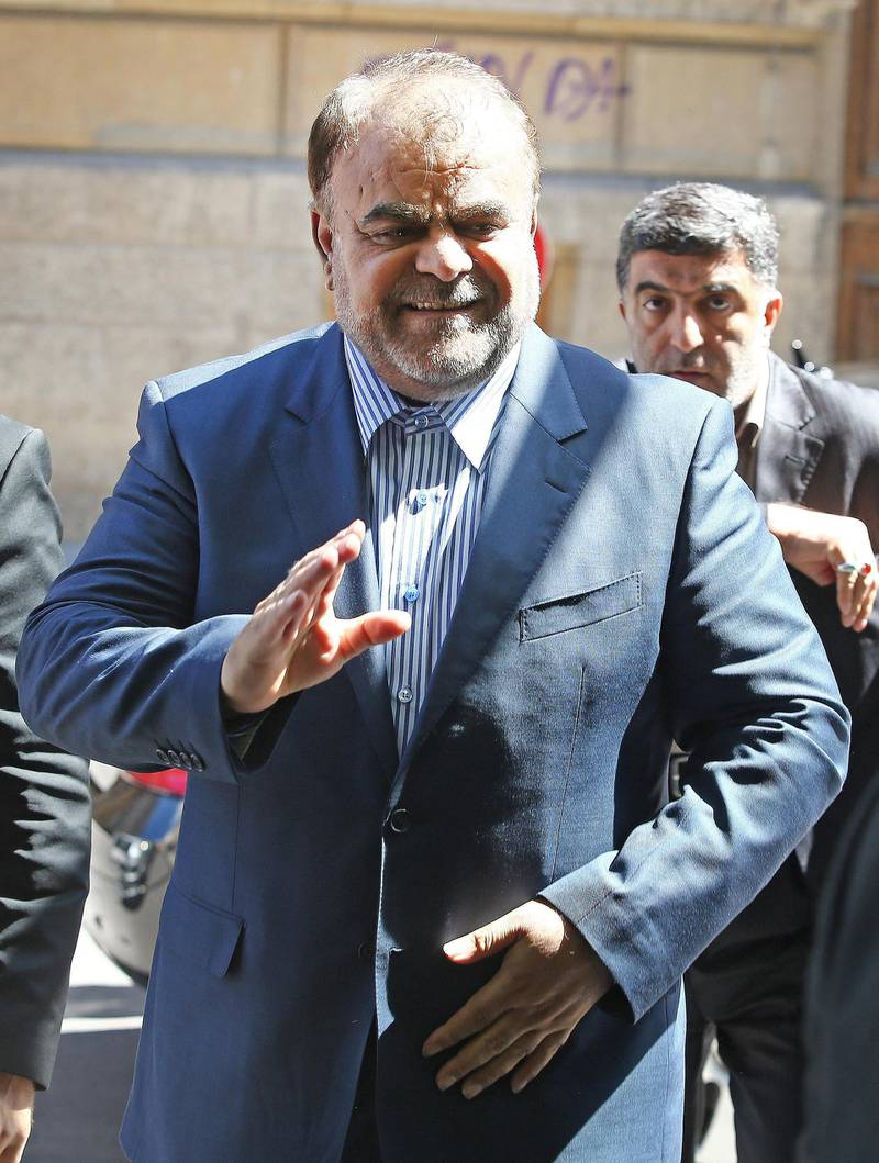 Iran's Minister of Petroleum Rostam Ghasemi arrives for the 161st ordinary meeting of the Organization of the Petroleum Exporting Countries (OPEC)  conference on June 14, 2012 in Vienna. orld oil prices were narrowly mixed on Thursday with OPEC expected to maintain its output ceiling at a meeting in Vienna. AFP PHOTO / DIETER NAGL (Photo by DIETER NAGL / AFP)