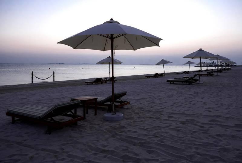 Abu Dhabi, United Arab Emirates, November 8, 2020.   The new Hudayriyat Leisure and Entertainment District at Hudayriyat Island.  The Bab Al Nojoum area.Victor Besa/The NationalSection:  NAReporter:  Haneen Dajani