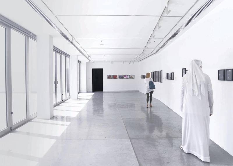 SHARJAH, UNITED ARAB EMIRATES - JULY 14 2019.Vantage Point Sharjah 7 exhibition in Al Muraijah Square galleries. This is the seventh iteration of Sharjah Art Foundation's annual photography initiative.This year, VPS7, for the first time, the open call was extended not only to residents of the UAE and other GCC countries but also to international applicants. This initiative aims to foster photographers' development and creativity and encourage their engagement with the wider cultural community.Photo by Reem Mohammed/The National)Reporter: ANNA SEAMANSection: AC