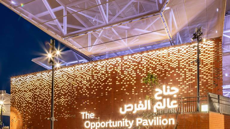 An image that illustrates this article Thousands tour Expo 202O Dubai's Opportunity District