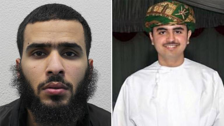 An image that illustrates this article Killer of Omani student in London jailed for life as brother condemns 'cowardly attack'