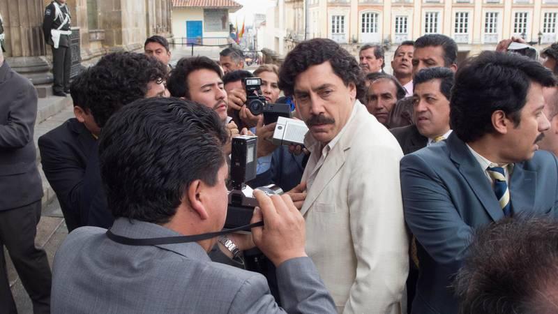Javier Bardem in Loving Pablo. Photo by Raul Soto
