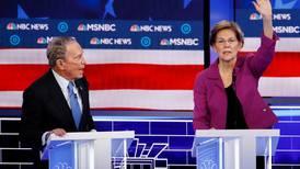 The Democratic debate sees Bloomberg spend millions to be attacked from all sides