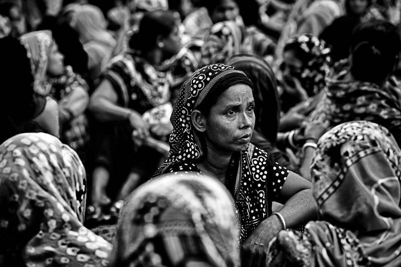 Still garments worker fighting for their salary several time in Bangladesh 04 Octabar 2014.