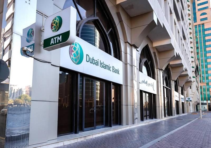 Abu Dhabi, United Arab Emirates, October  23, 2020.    Friday morning at central Abu Dhabi.  Dubai Islamic Bank.Victor Besa/The NationalSection:  NAfor:  Standalone/Weather
