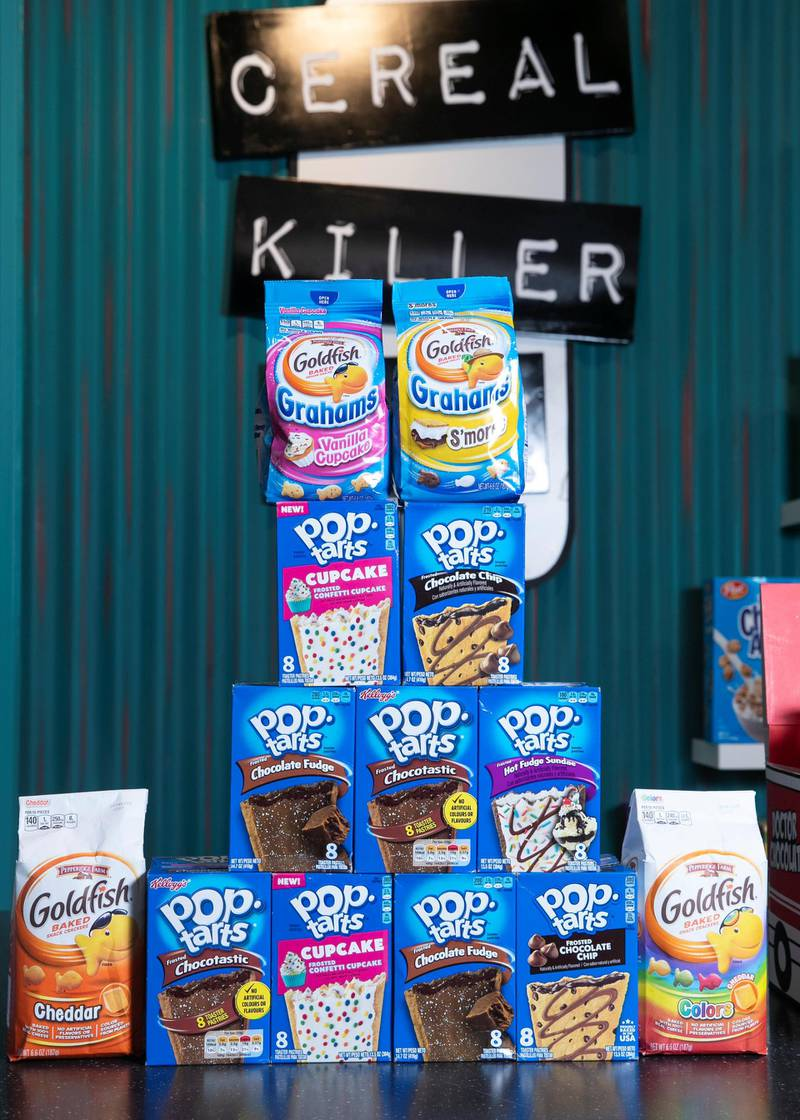 DUBAI, UNITED ARAB EMIRATES. 7 JULY 2020. Cereal Killer at South Market foodhall in Gate Avenue.(Photo: Reem Mohammed/The National)Reporter:Section: