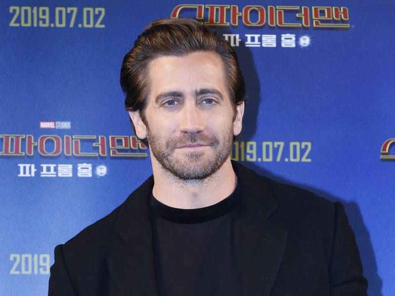 epa07686429 US actor cast member Jake Gyllenhaal poses for a photo during a press conference for the premiere of Spider-Man: Far From Home at hotel in Seoul, South Korea, 01 July 2019. The movie will open in South Korean theaters on 02 July 2019.  EPA-EFE/KIM HEE-CHUL