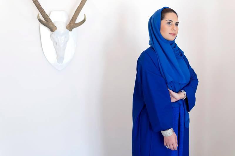 DUBAI, UNITED ARAB EMIRATES, AUGUST 23, 2016. Fatma Al Mulla, clothing designer and charity worker. Photo: Reem Mohammed / The National  (Section: AL) ID 78128 *** Local Caption ***  RM_20160823_FMM_002.JPG