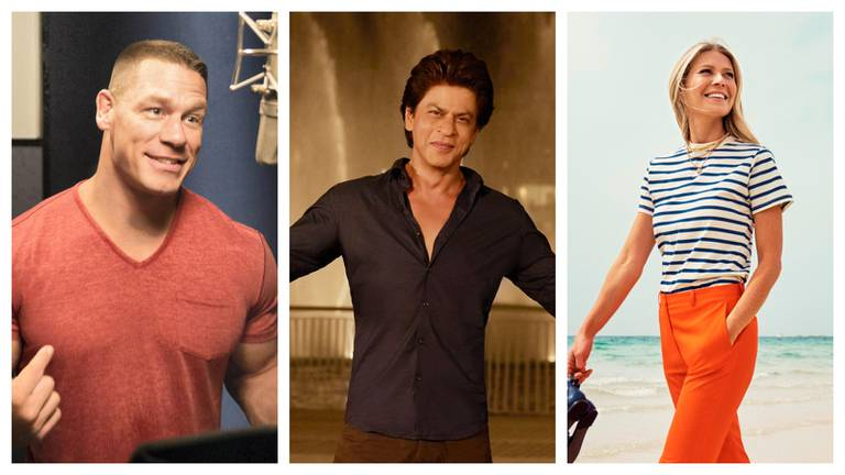 An image that illustrates this article Hollywood and Bollywood stars in UAE tourism videos: John Cena to Shah Rukh Khan