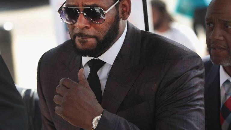 An image that illustrates this article R&B singer R Kelly convicted in sex trafficking trial