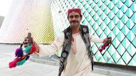 Globe-trotting Pakistani folk dancer wows the crowds at Expo 2020 Dubai