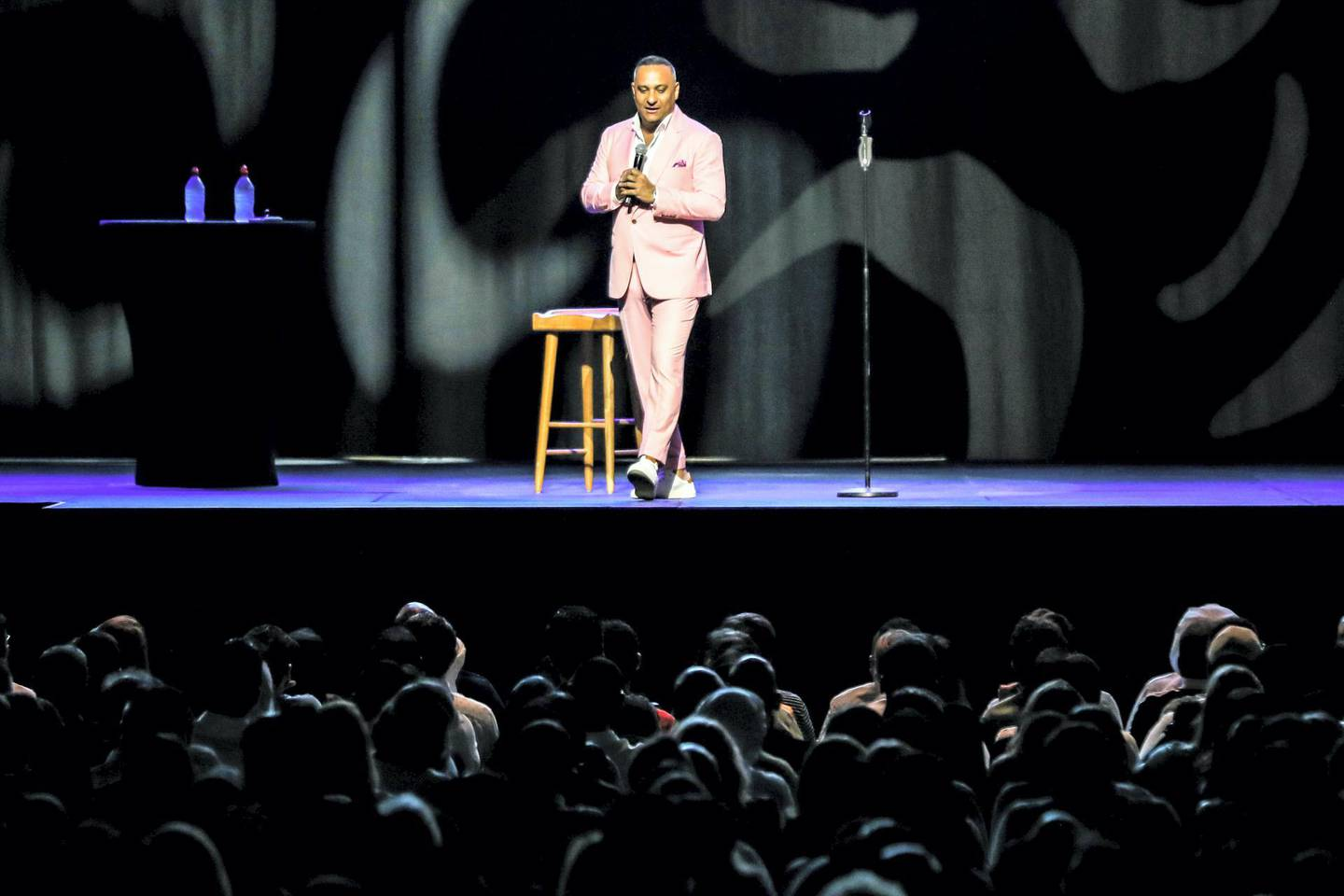 RUSSELL PETERS - THE DEPORTED WORLD TOUR at Dubai's Coca-Cola Arena. courtesy: Coca-Cola Arena.