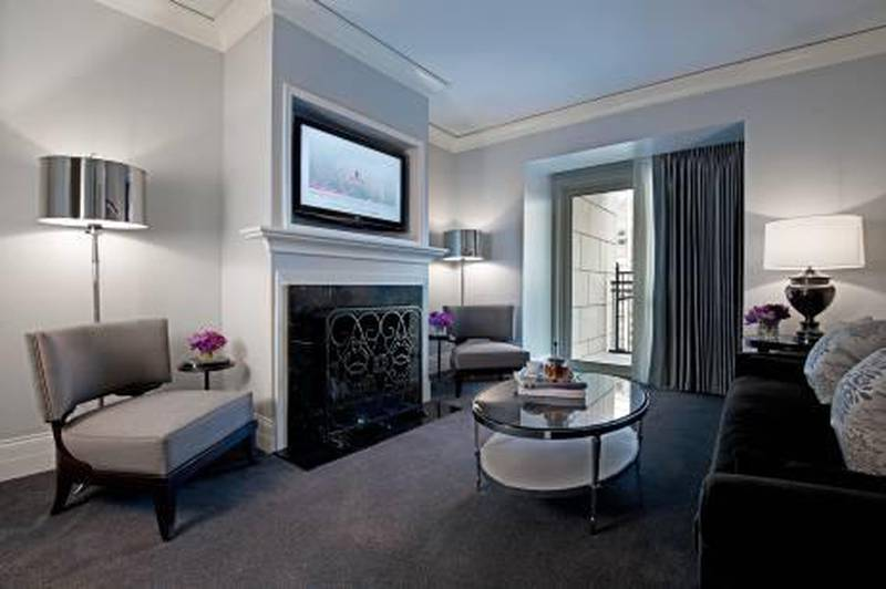 A handout photo showing the Elysian Suite Parlor of The Elysian hotel in Chicago (Courtesy: The Elysian)