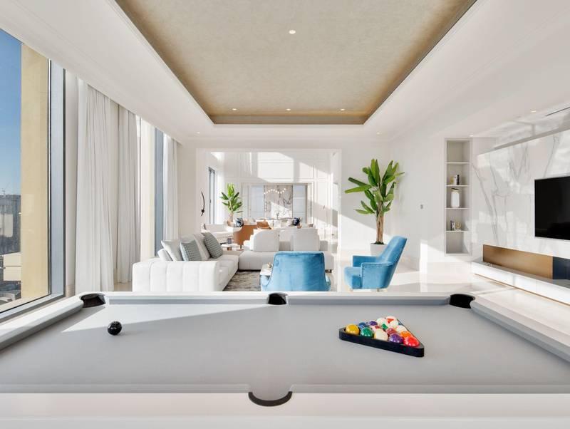 Penthouse, The 118, Downtown Dubai. Courtesy Luxhabitat Sotheby's International Realty