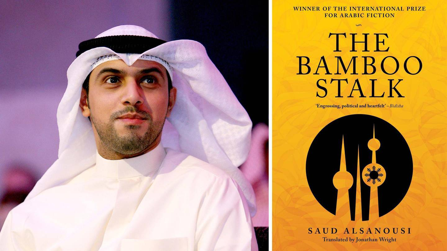 The Bamboo Stalk by Saud Alsanousi. Courtesy Bloomsbury