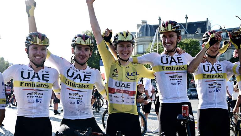 An image that illustrates this article UAE Team Emirates head home to begin preparations for 2022 season