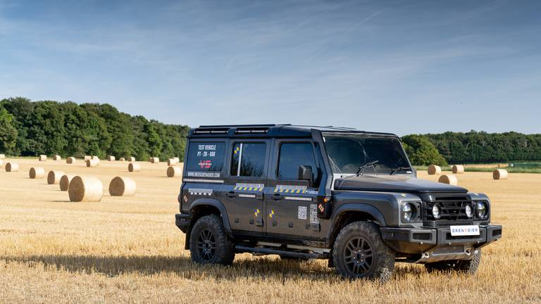 An image that illustrates this article Road testing the Ineos Grenadier 4x4 prototype: what to expect ahead of 2022 launch