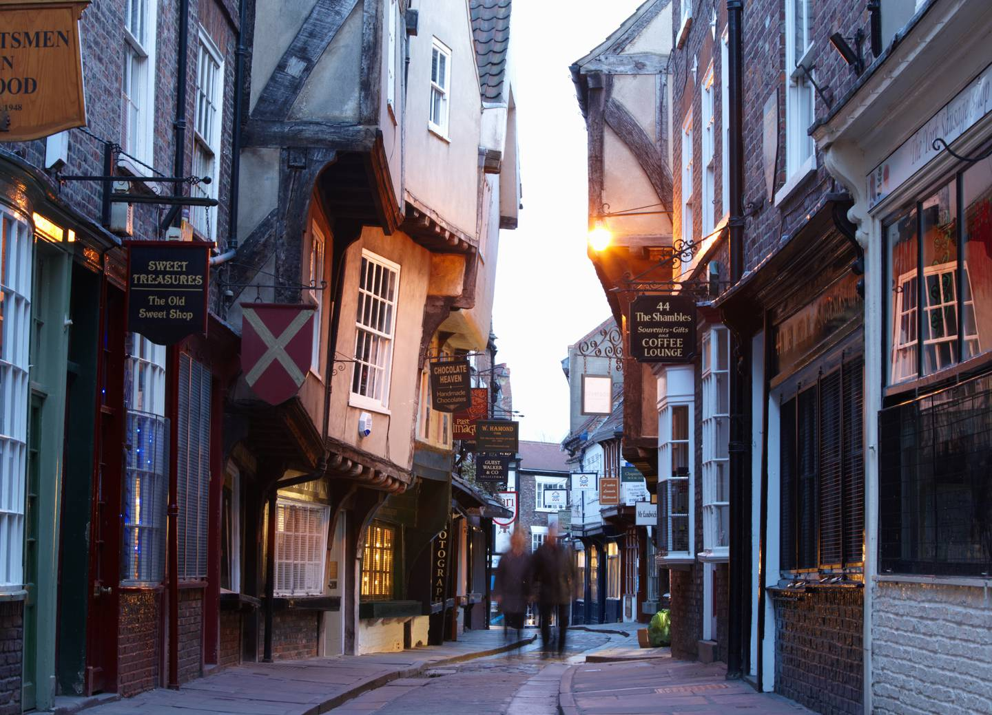 A handout photo of The Shambles, York, Yorkshire, England, UK (Britain on View / VisitBritain)