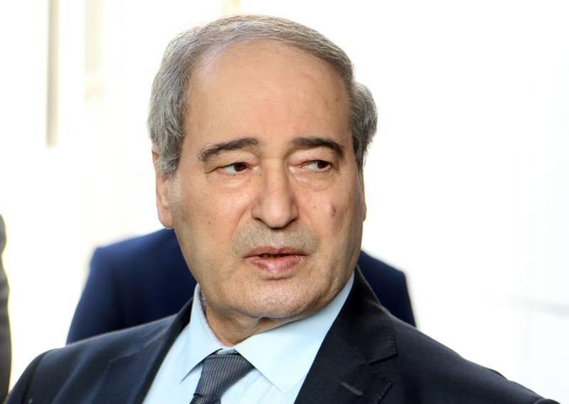 epa08836195 Syrian Deputy-Foreign Minister Faisal Mekdad attends the funeral of late Foreign Minister Walid al-Moallem in Damascus, Syria, 16 November 2020 (issued 22 November 2020). Syrian President Bashar Al-Assad issued on 22 November 2020 three decrees appointing Mekdad as new Foreign Minister replacing Walid al-Moallem who died last week, and appointing Bashar Al-Jaafari as Deputy Foreign and Expatriates Minister and transferring Ambassador Bassam Al-Sabbagh to the permanent delegation in New York and accrediting him as Syria's Permanent Representative at the UN.  EPA/YOUSSEF BADAWI