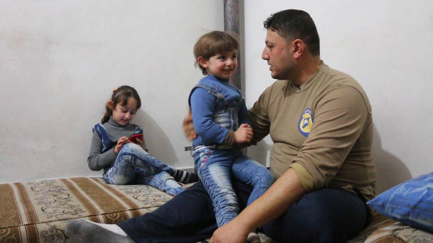 Khalid appears in <i>Last Men in Aleppo</i> by Feras Fayyad and Steen Johannessen, an official selection of the World Cinema Documentary Competition at the 2017 Sundance Film Festival. Courtesy of Sundance Institute. *** Local Caption ***  31280753065_1f08e6e836_o.jpg