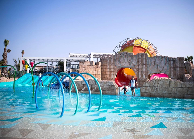 DUBAI, UNITED ARAB EMIRATES.  24 FEBRUARY 2021. Splashers Cove & Lagoon at Atlantis Aquaventure.Photo: Reem Mohammed / The NationalReporter: