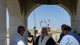 Iraqi church desecrated by ISIS gets new bell after restoration