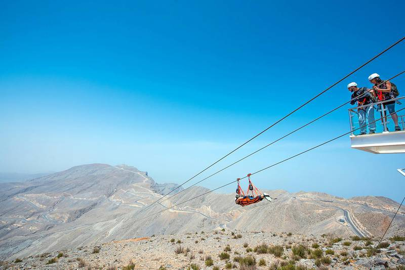 Number of international visitors to Ras Al Khaimah rose 14 per cent during the first half of this year as adventure tourism in the northern emirate continues to grow. Courtesy: Ras Al Khaimah Tourism Development Authority.(RAKTDA)